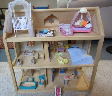 Inside dollhouse